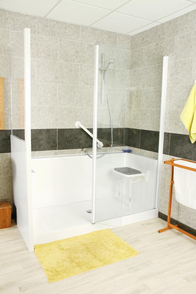 douche adaptée